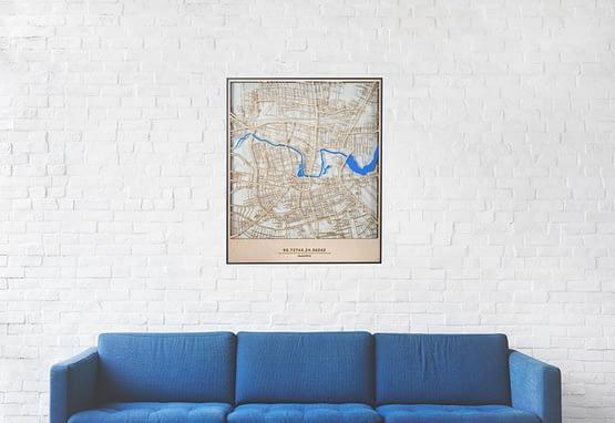 Skaidrus Panevėžio žemėlapis